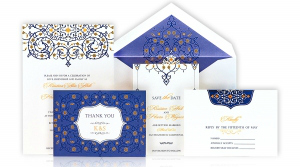 Invitations – Floral Swirl