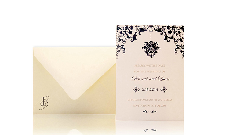 Elegance Save the Date Invitation