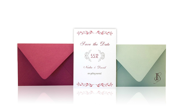 Graceful Bloom Save the Date Invitation