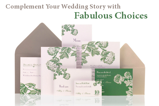 Complement Your Wedding Story with Fabulous Choices
