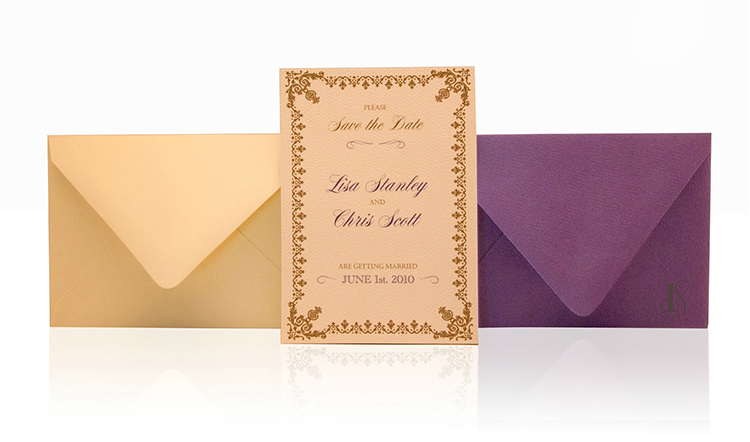 Splendid Save the Date Invitation