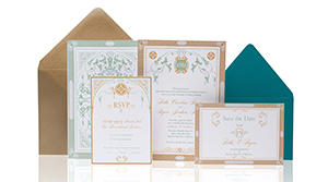 Invitations – Mint Green